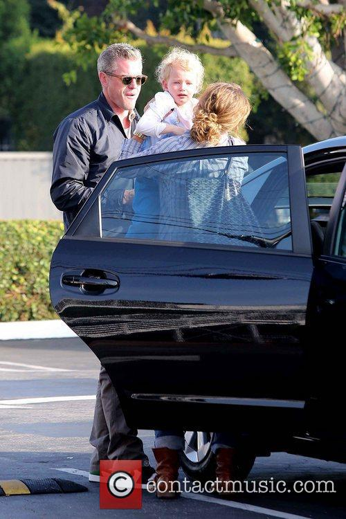 Rebecca Gayheart, Eric Dane and Billie 9