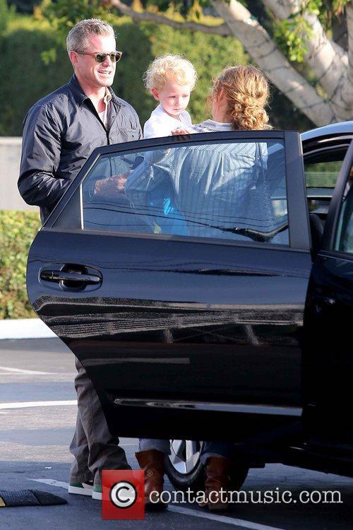 Rebecca Gayheart, Eric Dane and Billie 9