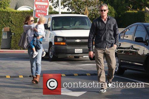 Rebecca Gayheart, Eric Dane and Billie 8