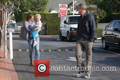 Rebecca Gayheart, Eric Dane and Billie 4