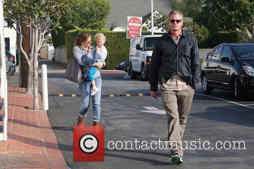 Rebecca Gayheart, Eric Dane and Billie 5