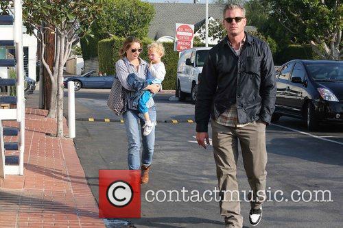 Rebecca Gayheart, Eric Dane and Billie 11