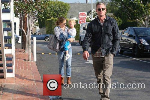 Rebecca Gayheart, Eric Dane and Billie 11