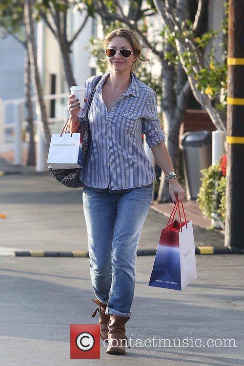 rebecca gayheart seen holding her coffee and 5957547