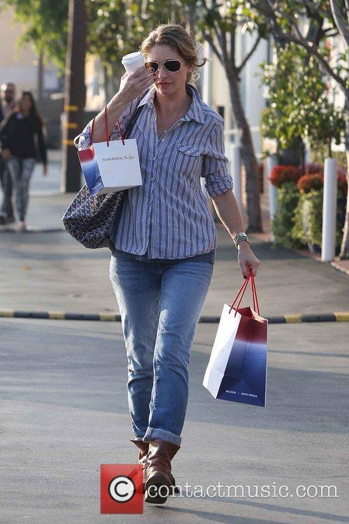 rebecca gayheart seen holding her coffee and 5957548