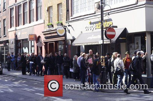 Record Store Day 2012 at Sister Ray Records...