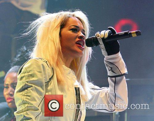 Rita Ora, Major Lazer, Red Bull Culture Clash, Wembley Arena. London and England 2