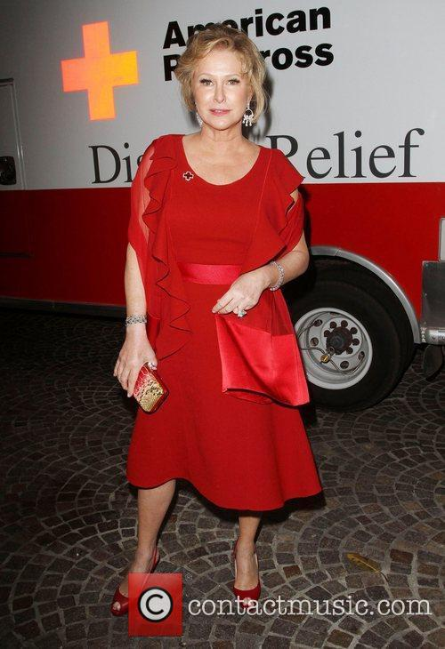 Kathy Hilton American Red Cross Annual Red Tie...