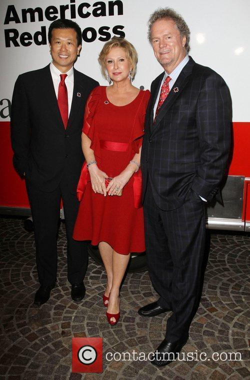 Kathy Hilton, Rick Hilton and Guest American Red...