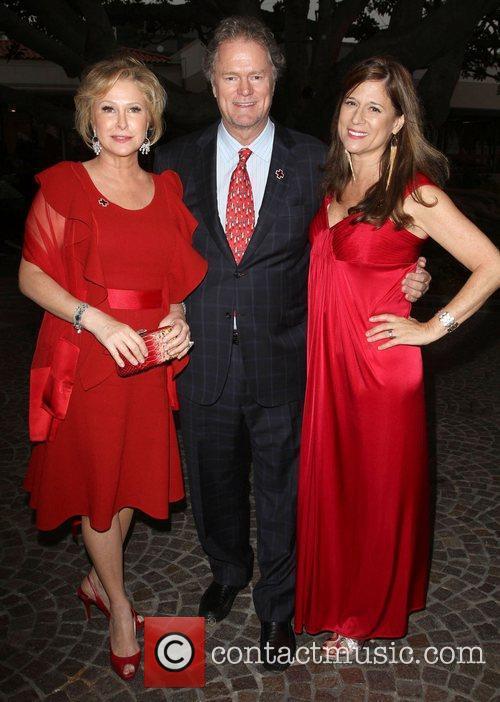 Kathy Hilton, Rick Hilton, Marcia Caldirola American Red...