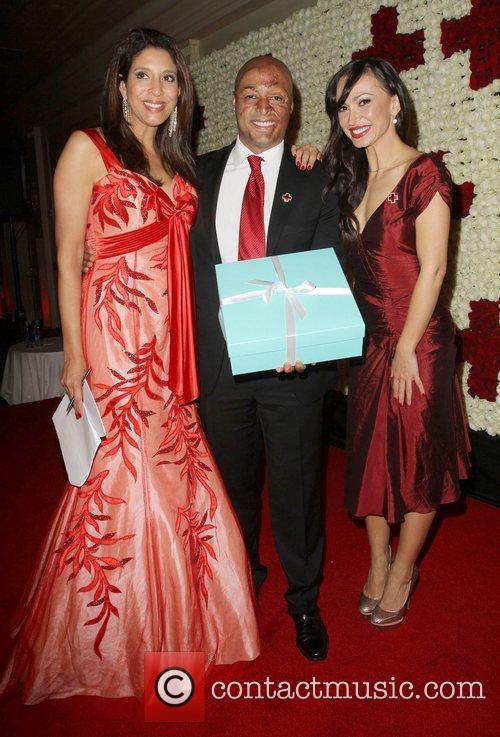 Christine Devine, JR Martinez, Karina Smirnoff American Red...