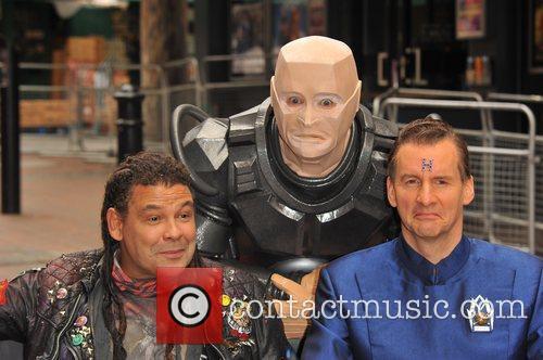 Craig Charles, Chris Barrie   Red Dwarf...