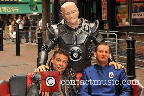 Craig Charles, Chris Barrie and Robert Llewellyn 5