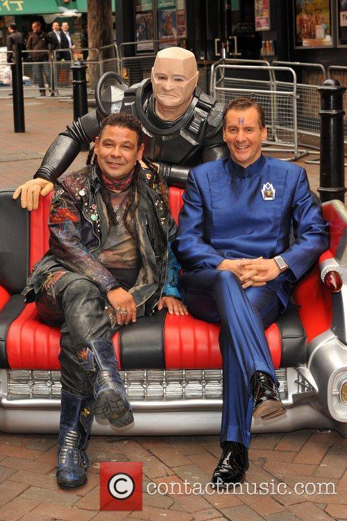 Craig Charles, Chris Barrie and Robert Llewellyn 3