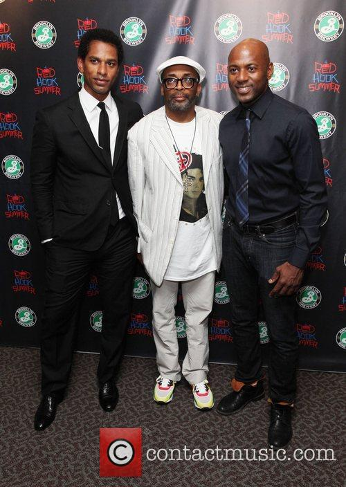 Spike Lee and Romany Malco 4