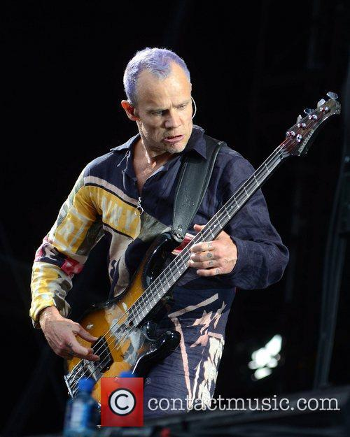 flea the red hot chili peppers perform 5870073