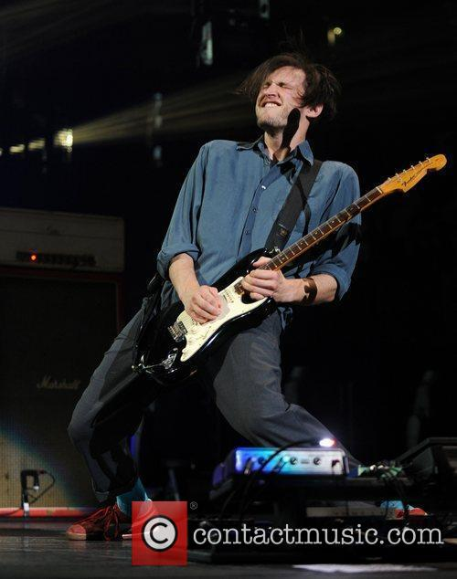 Josh Klinghoffer Red Hot Chili Peppers performing at...