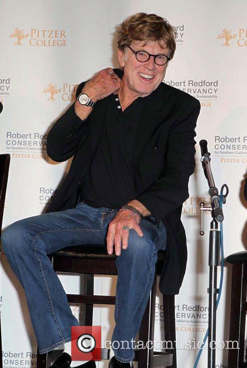 Robert Redford Pitzer College honors actor Robert Redford...
