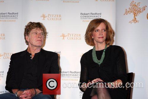 Robert Redford and Laura Skandera Trombley Pitzer College...