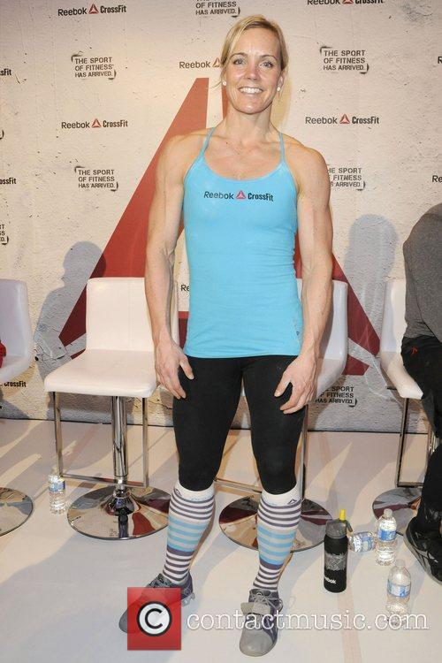 Angie Pye  Reebok CrossFit promotional event at...