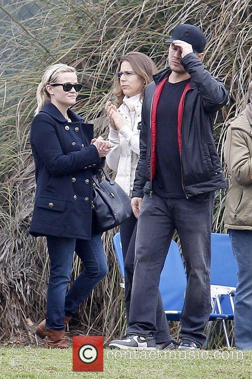 Ryan Phillippe and Reese Witherspoon The former couple...