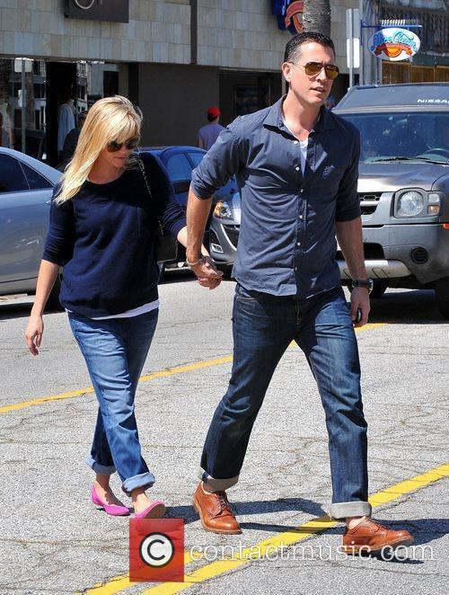 reese witherspoon and husband jim toth leaving 3829274