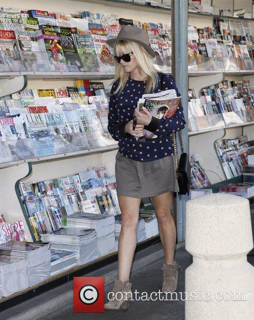 Buying magazines in Brentwood