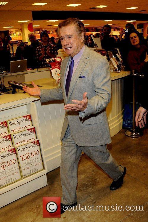 Regis Philbin at the Indigo Bookstore in Manulife...