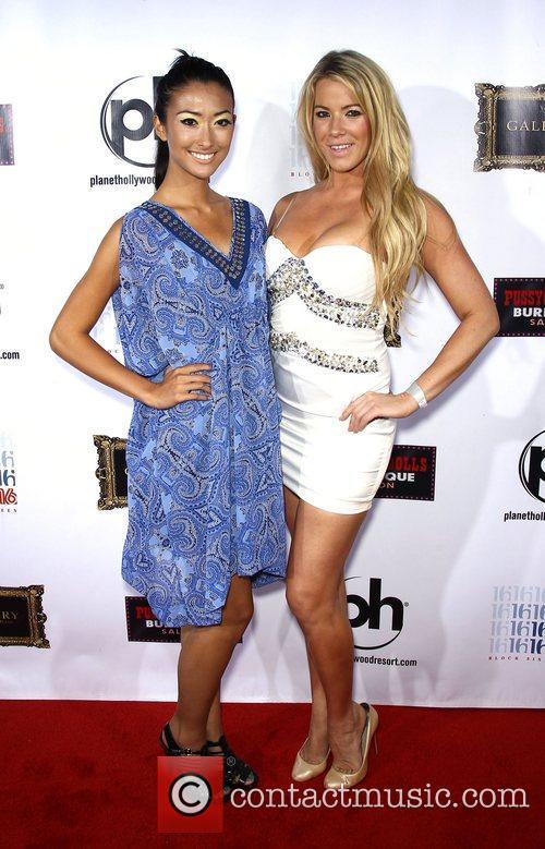 Michelle Smith, Stefanie Blase  The cast from...