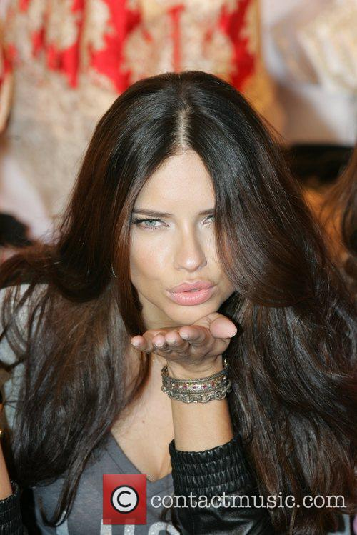 Adriana Lima, Victoria's Secret Angel Holiday, Celebration and Herald Square 2