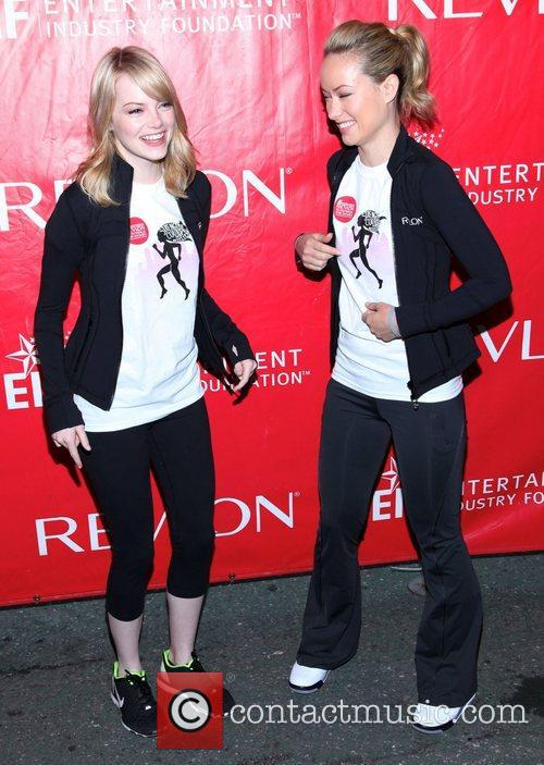 Emma Stone and Olivia Wilde 2