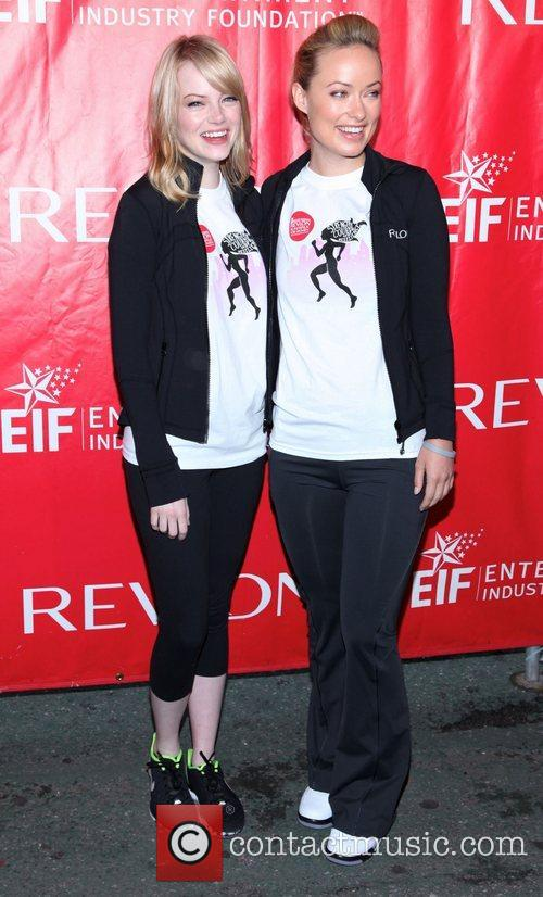Emma Stone and Olivia Wilde 3