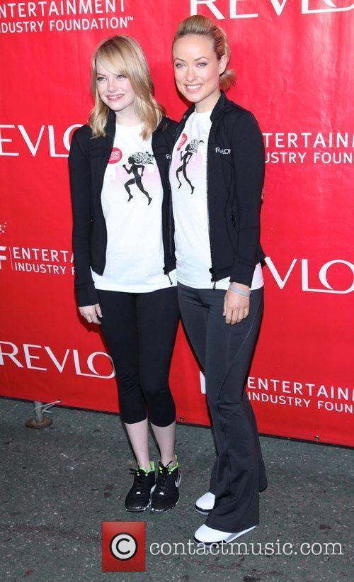 Emma Stone and Olivia Wilde 4