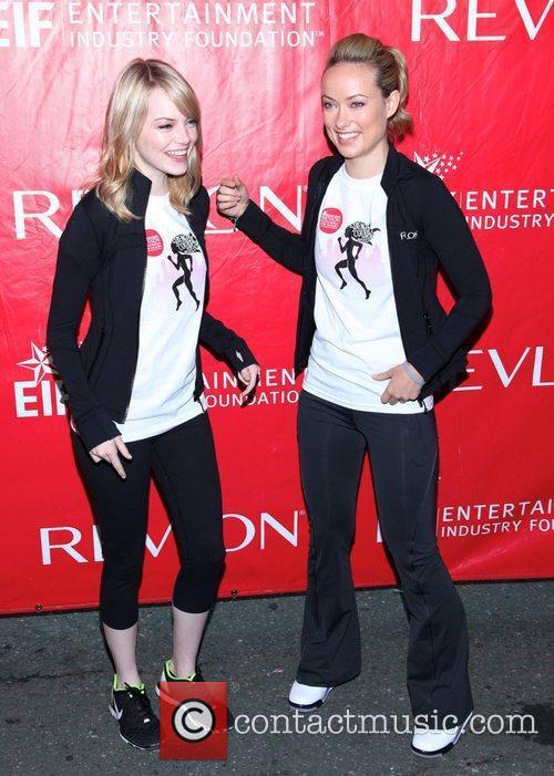 Emma Stone and Olivia Wilde 5