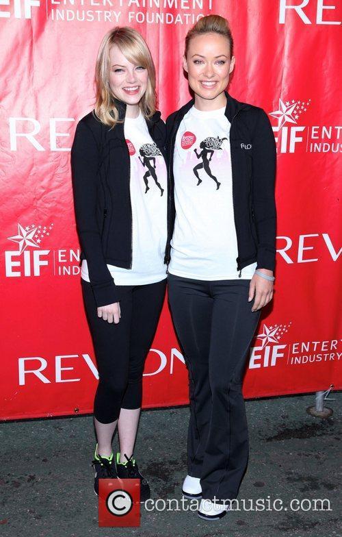 Emma Stone and Olivia Wilde 6