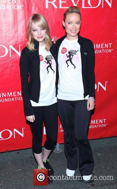 Emma Stone and Olivia Wilde 7
