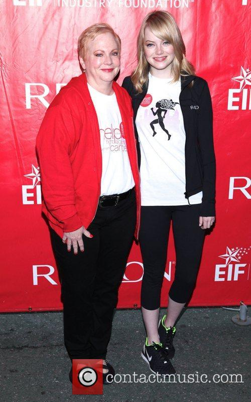 Krista Stone and Emma Stone The 15th Annual...