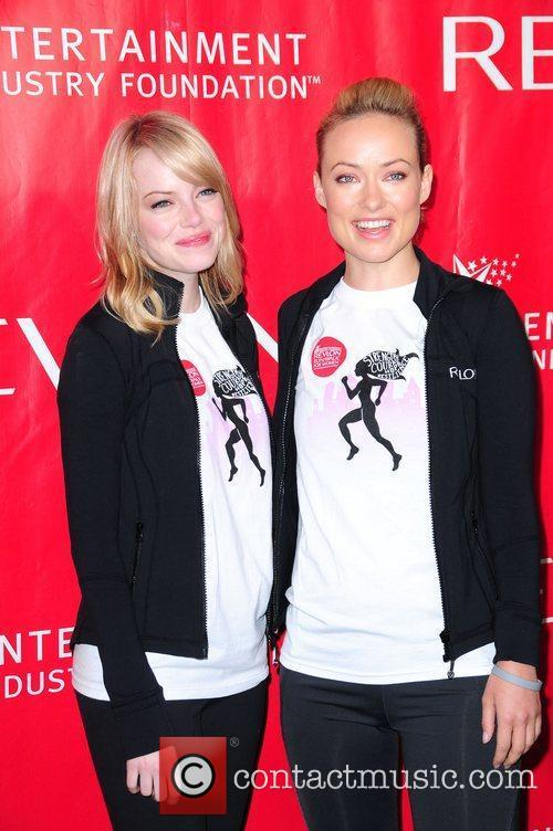 Emma Stone and Olivia Wilde 9