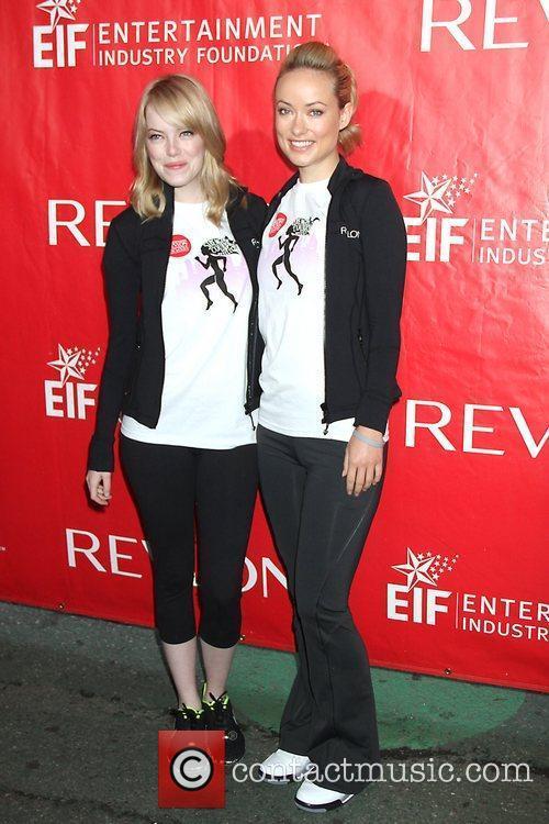Emma Stone and Olivia Wilde 1