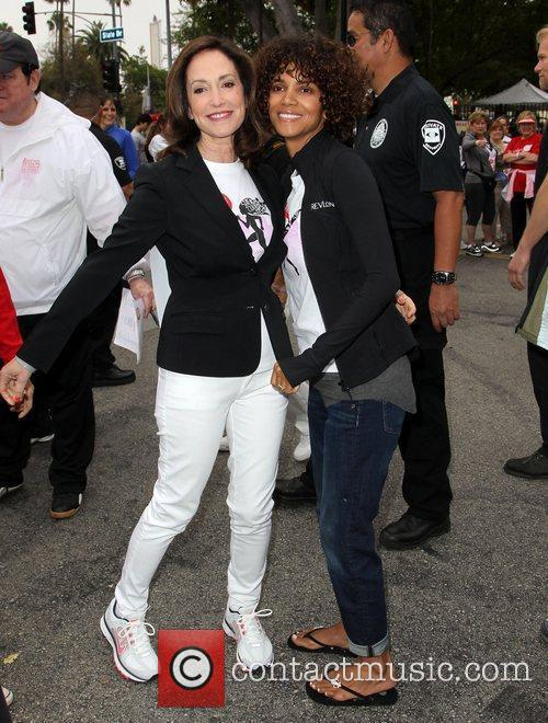 Lilly Tartikoff and Halle Berry 2