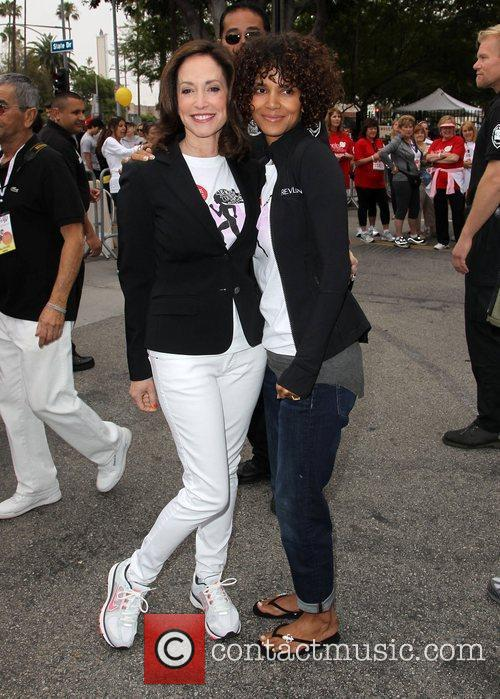 Lilly Tartikoff and Halle Berry 3