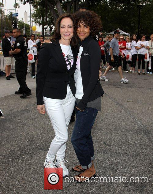 Lilly Tartikoff and Halle Berry 5