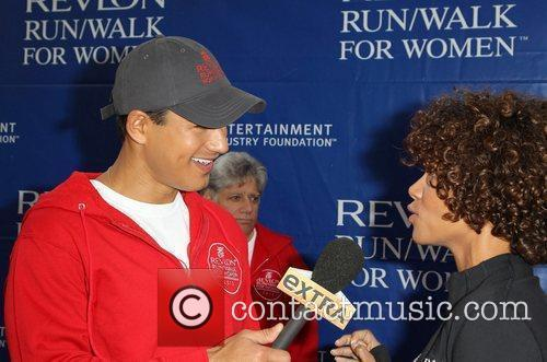 Mario Lopez and Halle Berry 2