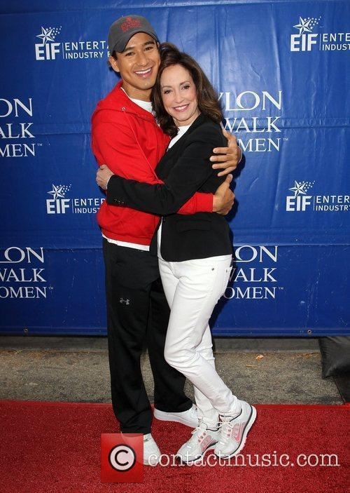Mario Lopez and Lilly Tartikoff 7