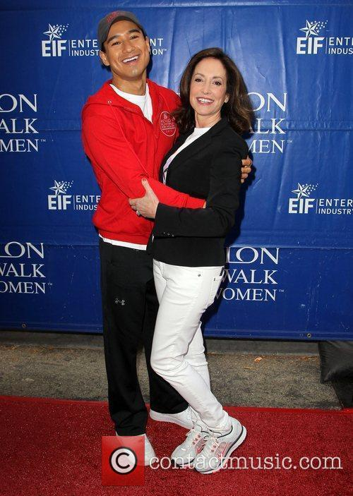 Mario Lopez and Lilly Tartikoff 9