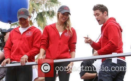 Mario Lopez, Matthew Morrison and Stacy Keibler 10