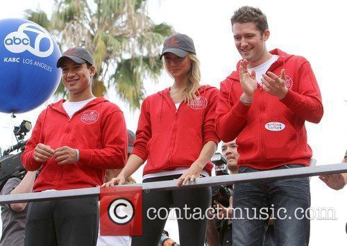 Mario Lopez, Matthew Morrison and Stacy Keibler 11
