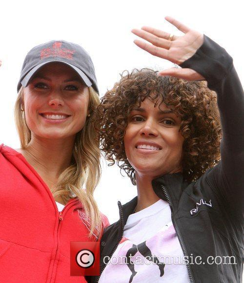 Stacy Keibler and Halle Berry 12