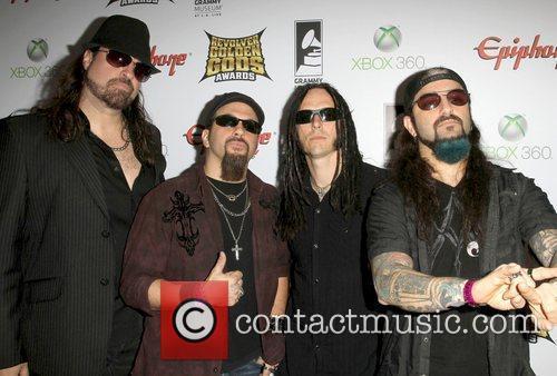 Adrenaline Mob 2012 Revolver Golden Gods Award Show...