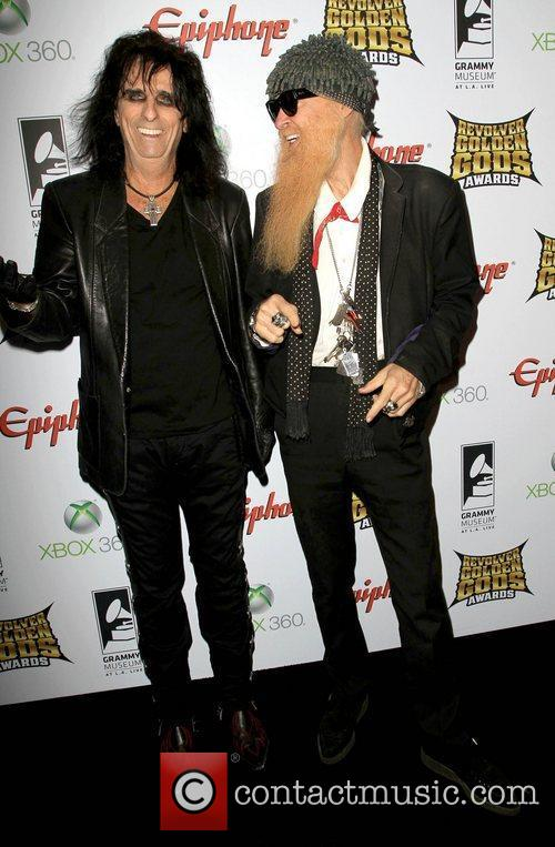 Alice Cooper and Billy Gibbons 2
